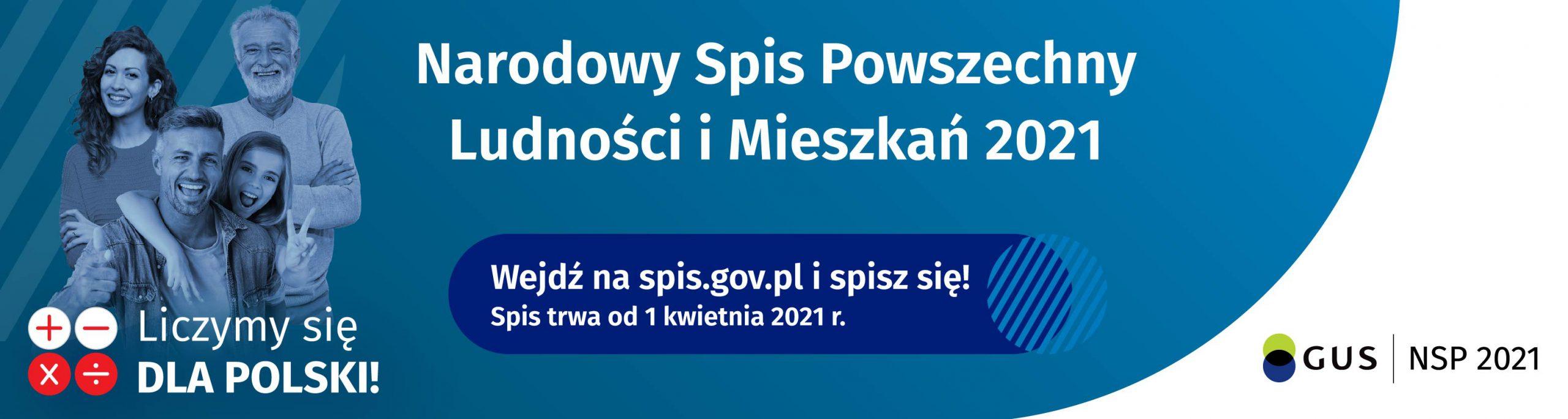 Zapraszamy do udziału w Narodowym Spisie Powszechnym!